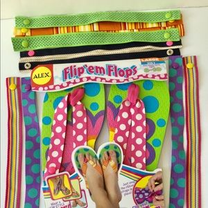 Other - New ALEX girls flip flops sandals 5 kids
